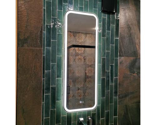 Зеркало с подсветкой для ванной комнаты Анкона Слим
